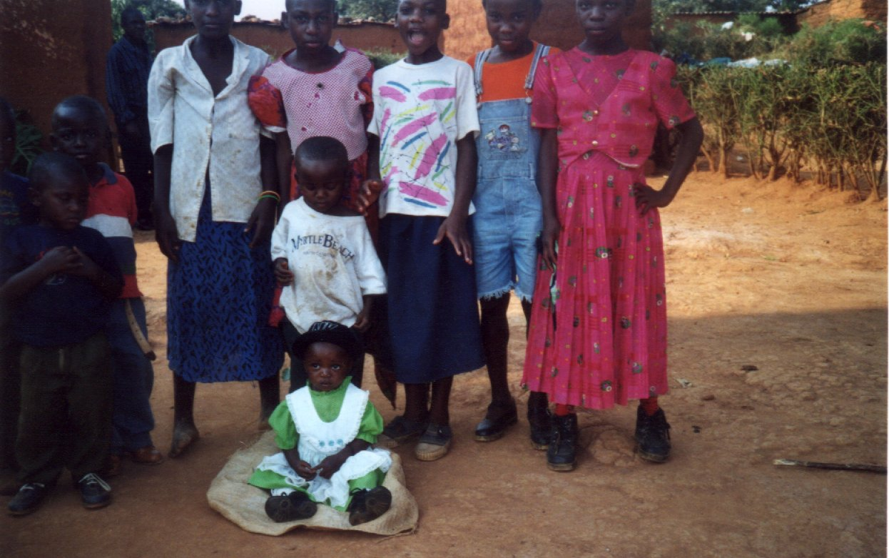 Orphaned Girls at the Girls Project centre